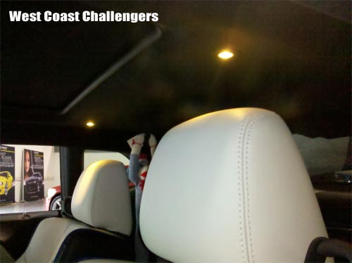 Challenger Interior Lighting