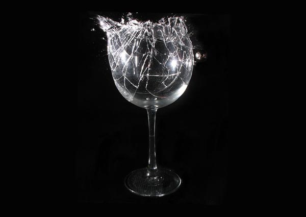 Wine Glass Shattering