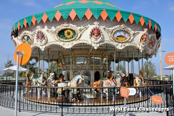 Orange County Great Park Carousel Ride