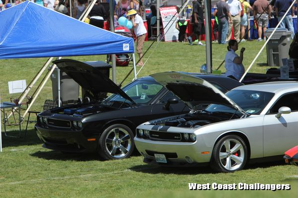 West Coast Challengers car club at the City of Diamond Bar Birthday Car Show