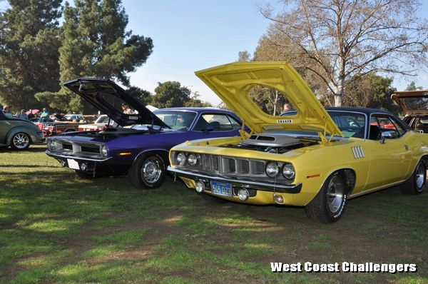 Cars on display at Fall Fling XXVIII