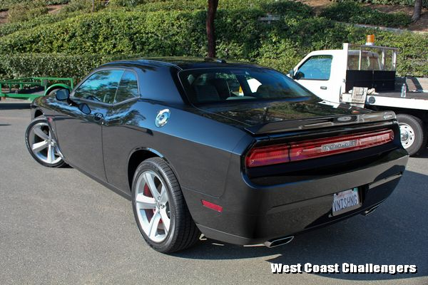 2012 Dodge Challenger in Gloss Black