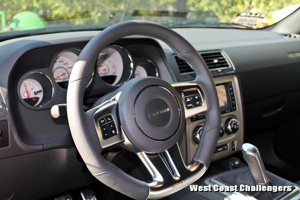 2012 Dodge Challenger steering wheel