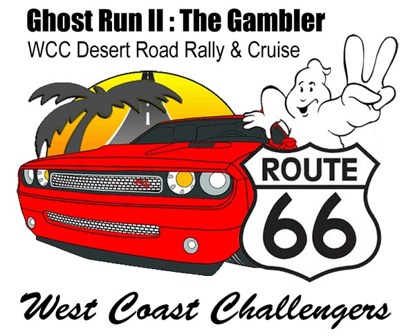 Ghost Run II - WCC Road Rally and Cruise