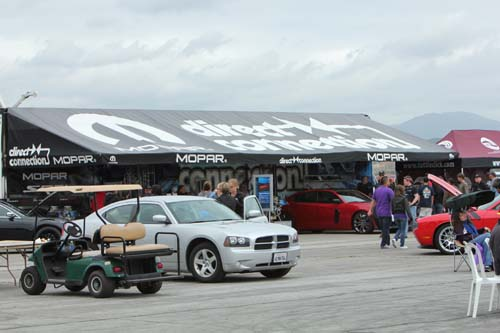 Mopar display at Spring Fest 6
