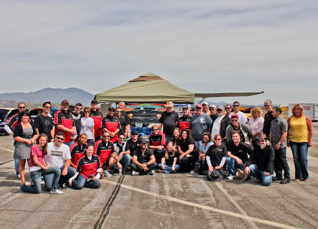 West Coast Challengers car club with Ralph Gilles at Spring Fest 7