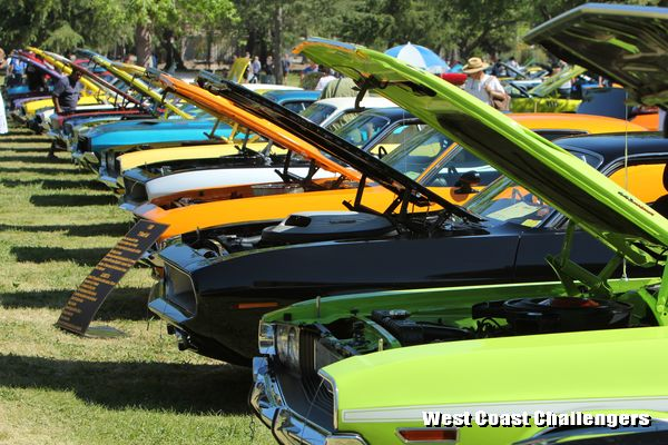 Cars on display at Spring Fling XXV